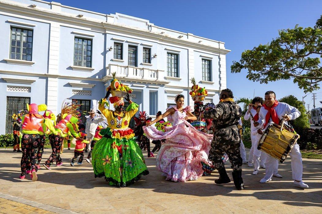Karneval in Barranquilla Kolumbien