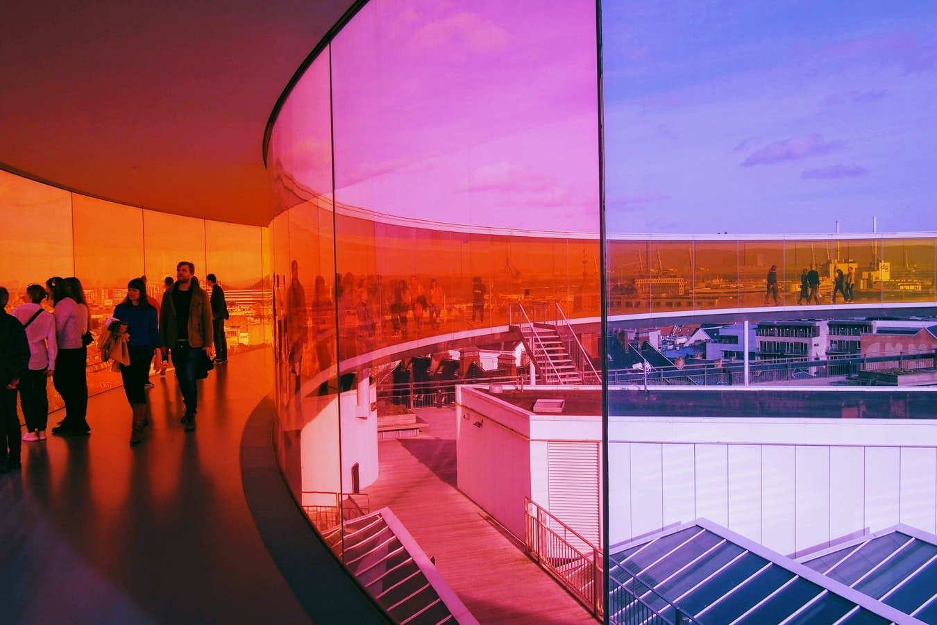 ARoS Kunstmuseum in Aarhus Dänemark