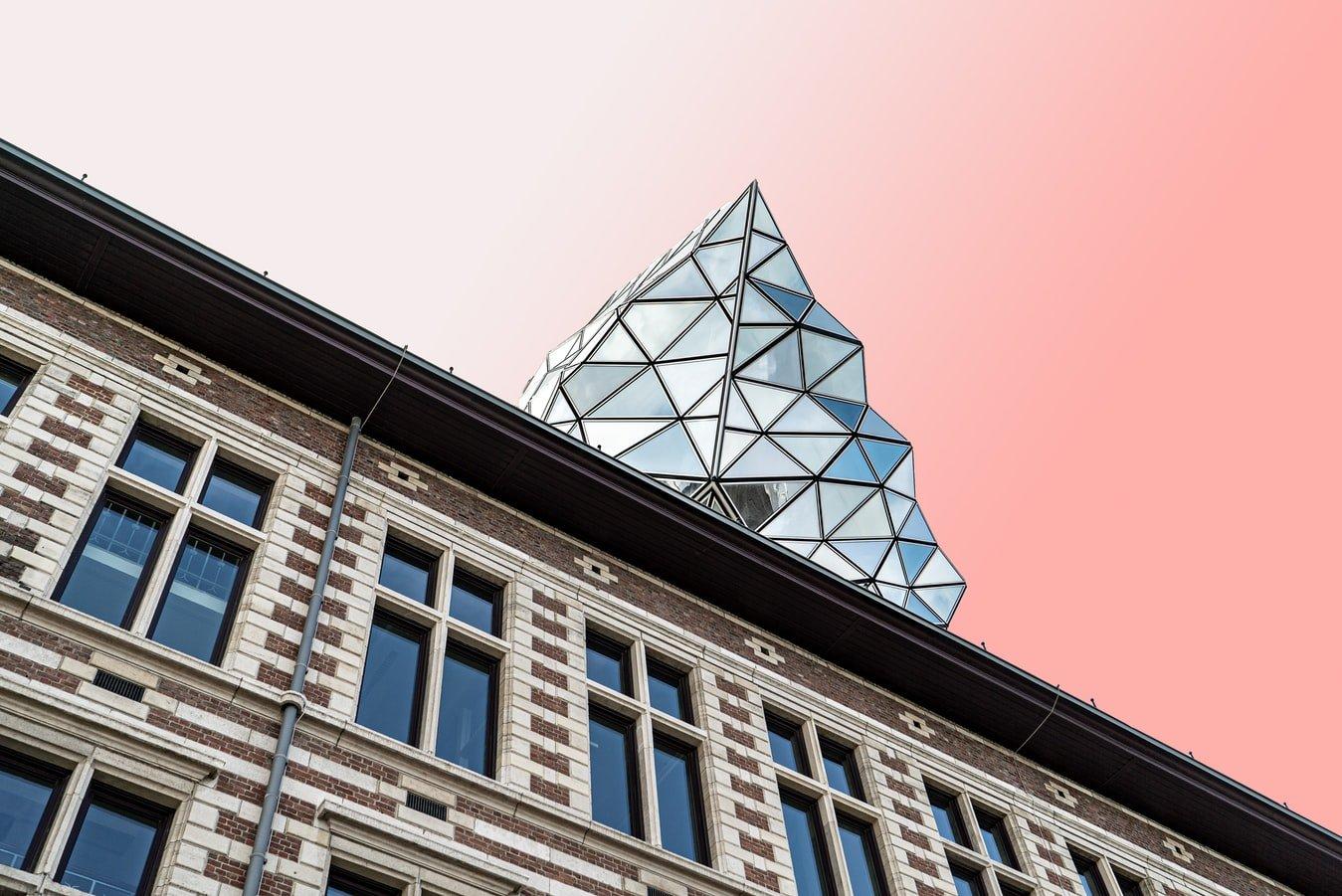 Havenhuis in Antwerpen Belgien