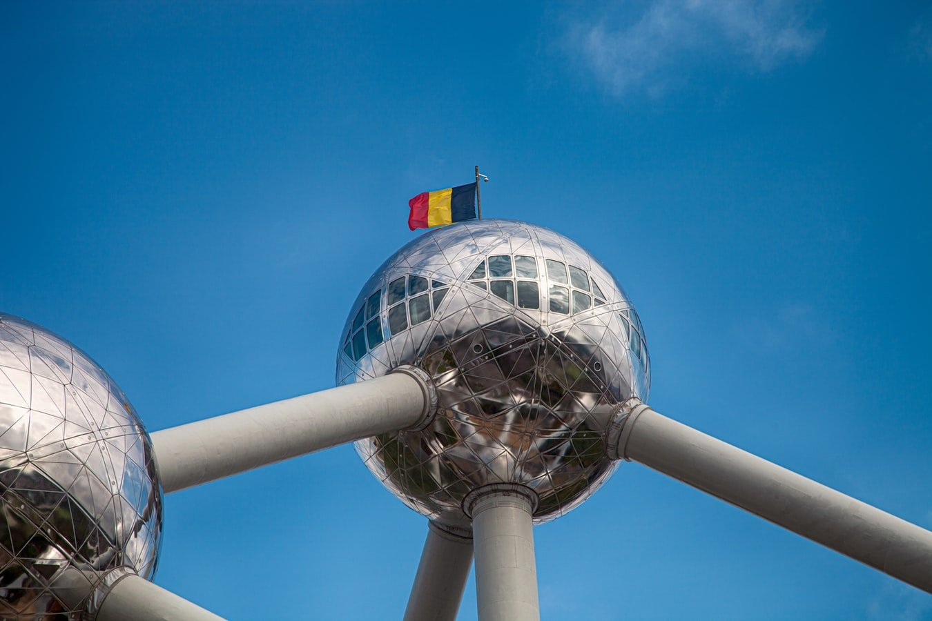 Atomium in Brüssel Belgien