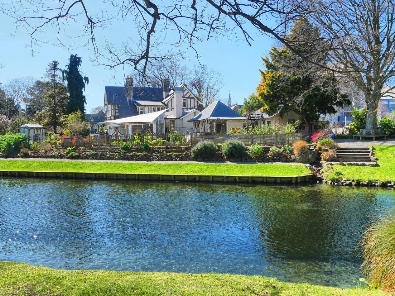Avon River Christchurch Neuseeland