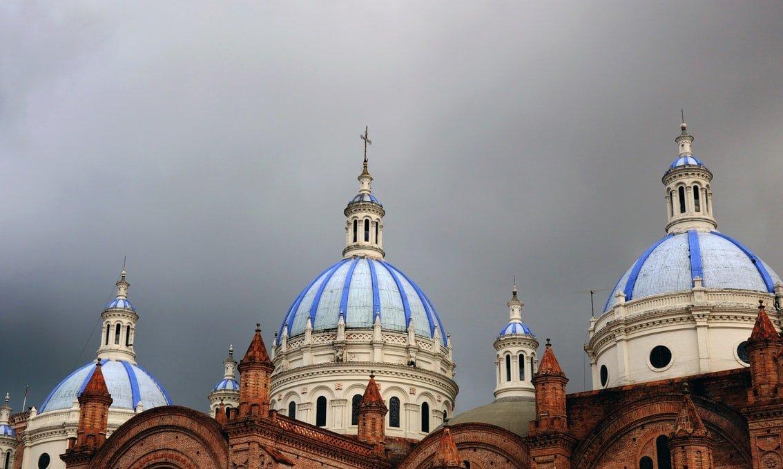 Nueva Catedral Cuenca Ecuador