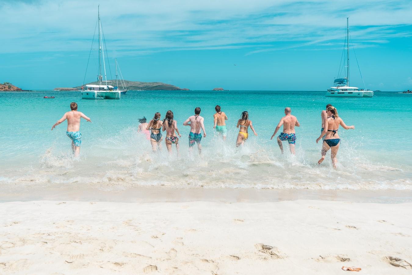 Wasserspaß am Strand von Culebra Puerto Rico