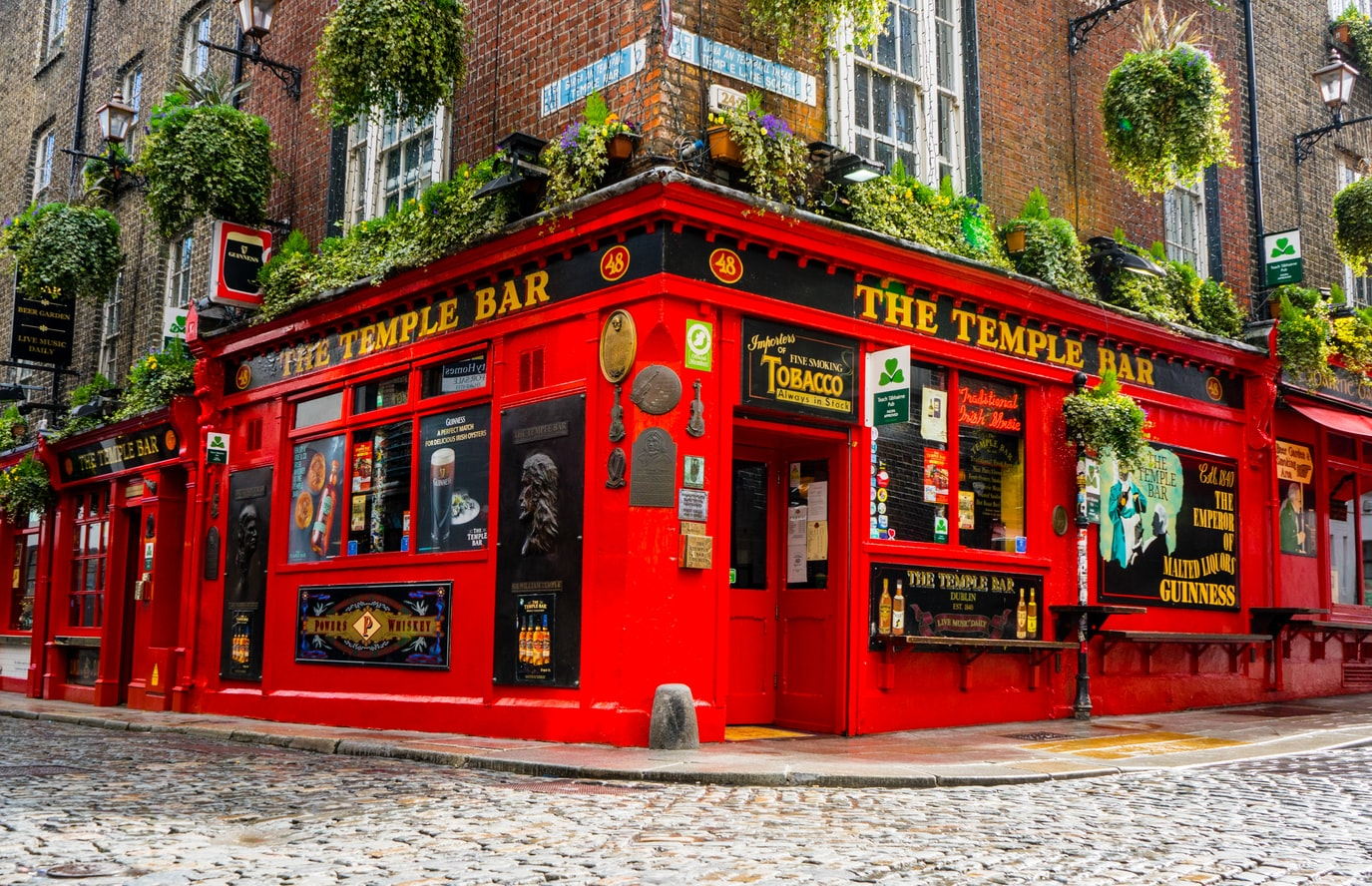 The Temple Bar in Dublin Irland