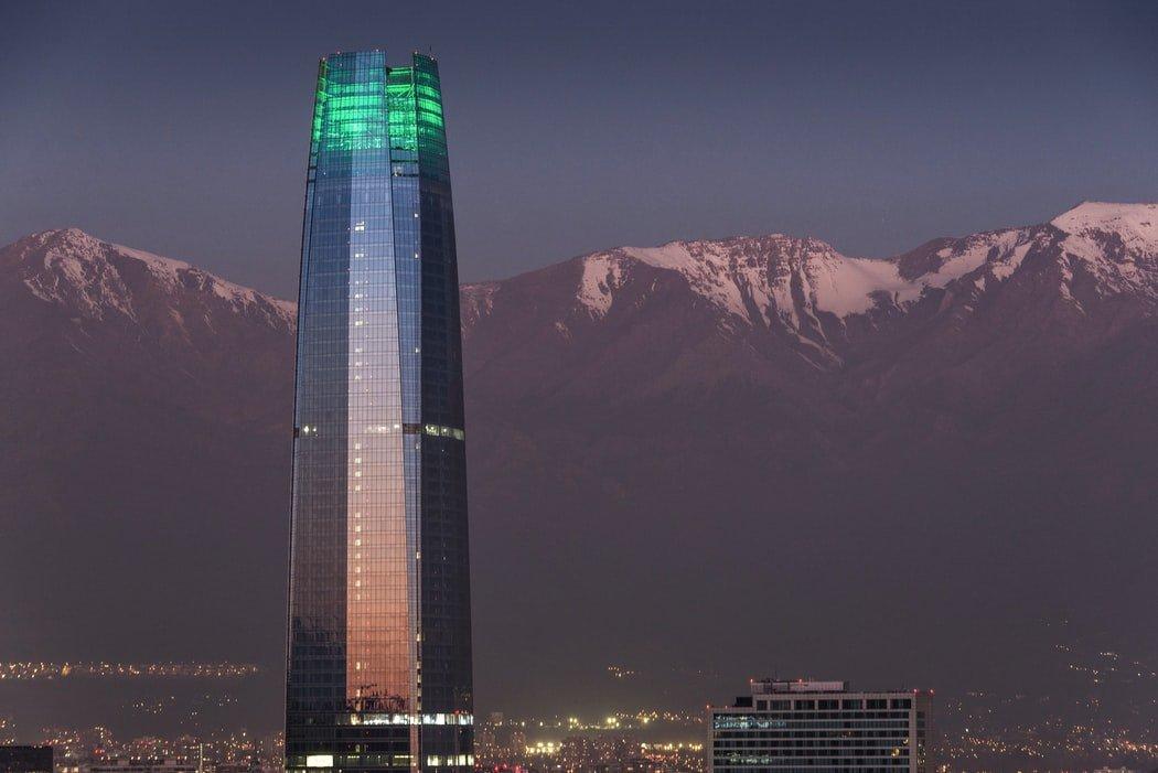 Wolkenkratzer Gran Torre Santiago de Chile