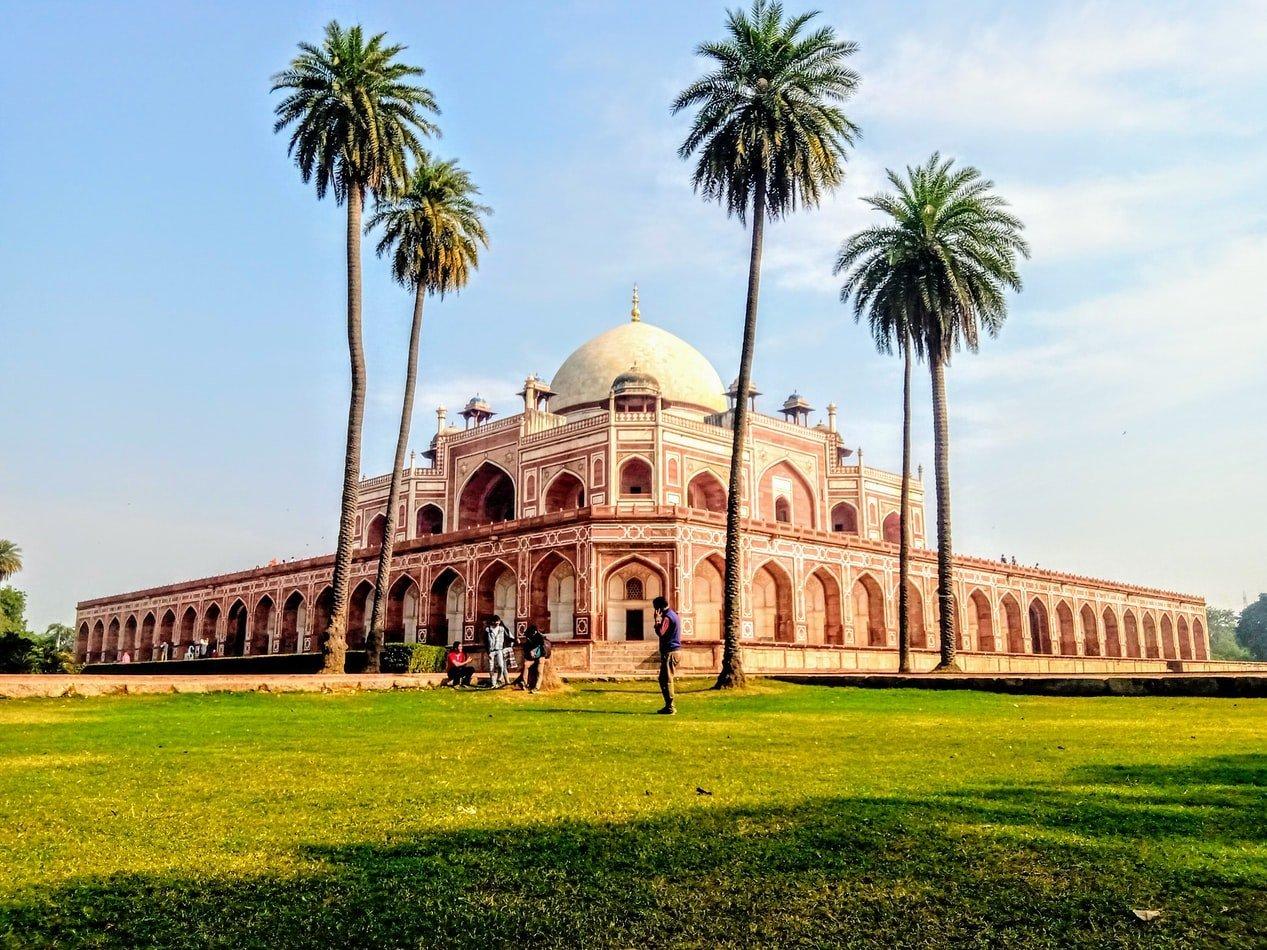 Humayun Mausoleum in Delhi Indien