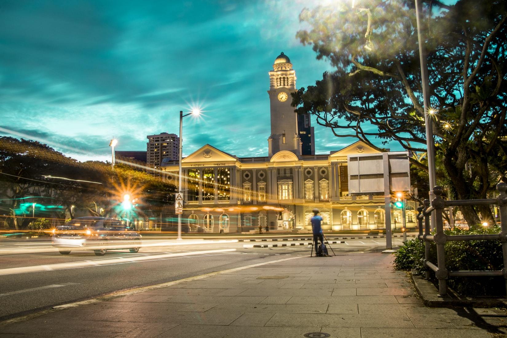 Victoria Theater in Singapur