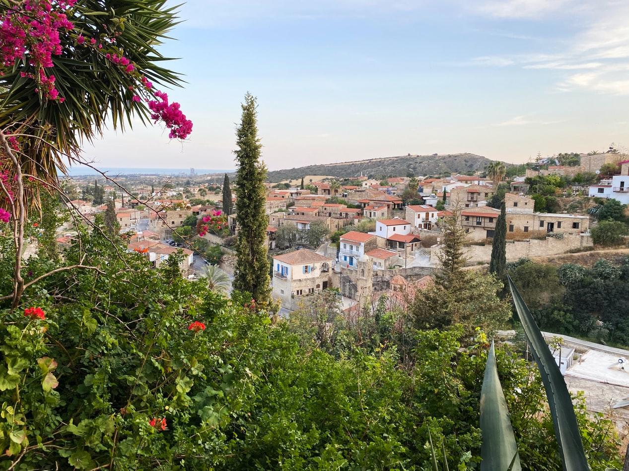 Stadtansicht von Larnaca auf Zypern