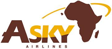 Logo von Asky Airlines Togo