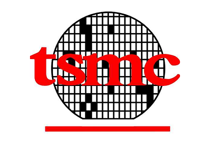 Logo von Taiwans Semiconductor manufacturing company