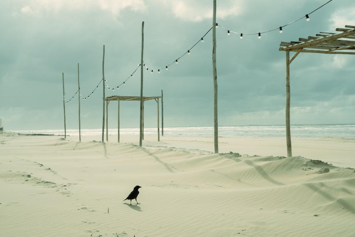 Strand in Nordwijk am Zee Niederlande