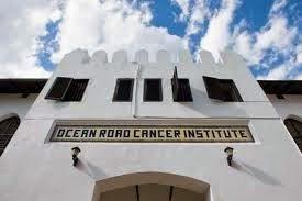Gebäude des Ocean Road Cancer Institute in Dar es Salaam Tansania