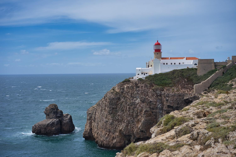 Blick auf das Cabo de São Vicente in Sagres Portugal