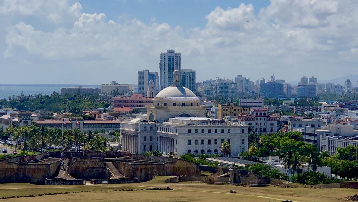 Stadtansicht von San Juan Puerto Rico