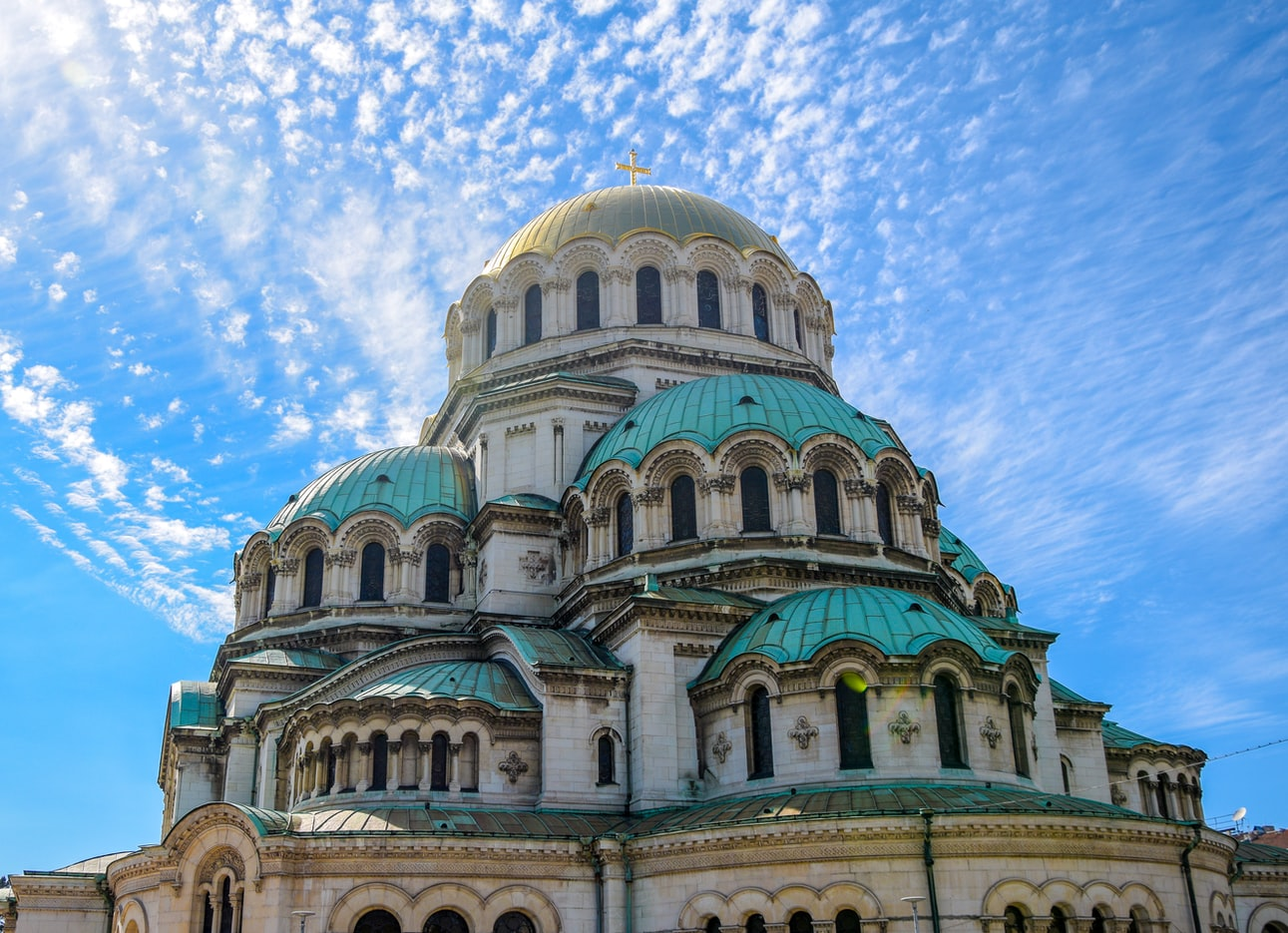 AUslandspraktikum in Bulgarien - Kathedrale in Sofia