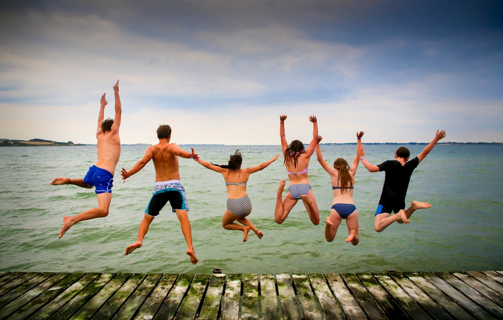Strandspass auf Fünen in Dänemark