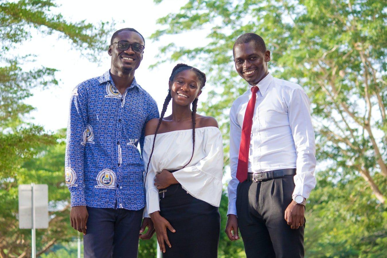 Junge Menschen in Ghana
