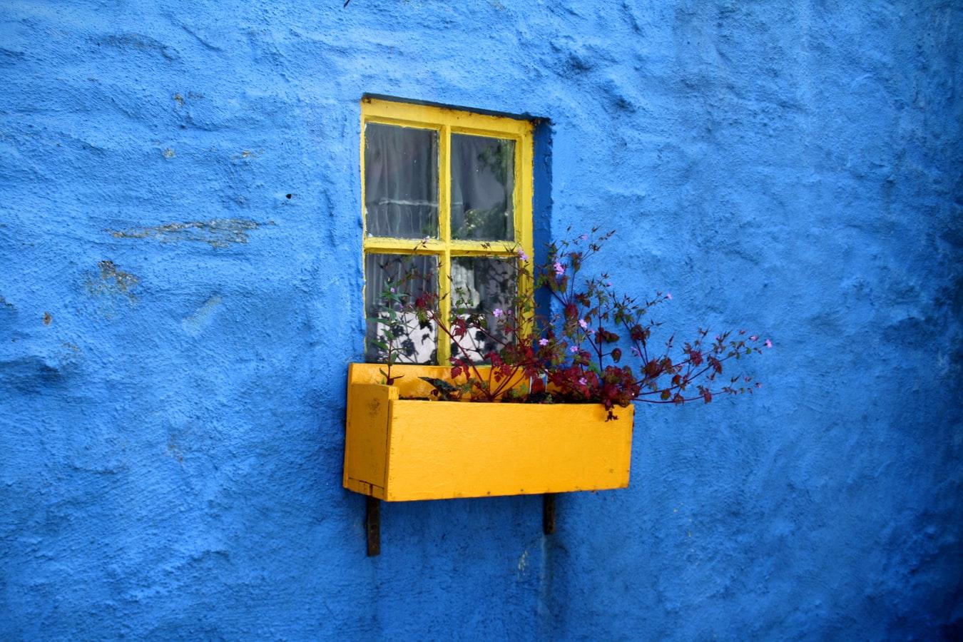 Buntes Haus in Kinsale Grafschaft Cork in Irland